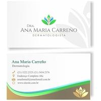 Dra Ana Maria Carreño Dermatologista, Logo e Identidade, Saúde & Nutrição