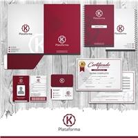 Plataforma K, Logo e Identidade, Educação & Cursos