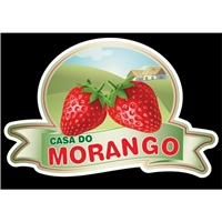 Casa do Morango, Logo e Identidade, Alimentos & Bebidas