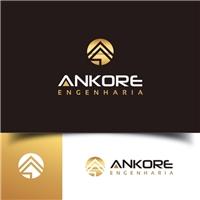 ANKOREengenharia, Logo e Identidade, Construção & Engenharia