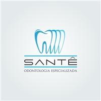 Santê Odontologia Especializada, Logo e Identidade, Saúde & Nutrição
