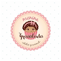 Menina Granulada - Ateliê Gourmet, Logo e Identidade, Alimentos & Bebidas