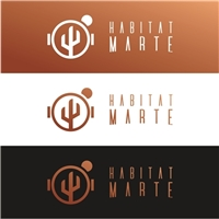 HABITAT MARTE, Logo e Identidade, Tecnologia & Ciencias
