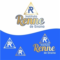 Instituto Renne de Ensino , Logo e Identidade, Educação & Cursos