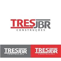 TRES JBR CONTRUÇÕES LTDA-ME, Logo e Identidade, Construção & Engenharia