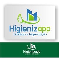 Higienizapp - Limpeza e Higienização, Logo e Identidade, Limpeza & Serviço para o lar