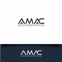AMAC Anchieta Machado Construtura, Logo e Identidade, Construção & Engenharia