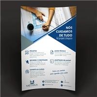 Metrica Soluções em Construções LTDA, Peças Gráficas e Publicidade, Construção & Engenharia