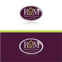 R & M Delícias da Amazônia, Logo e Identidade, Alimentos & Bebidas