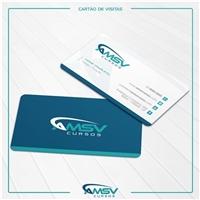 AMSV Cursos, Logo e Identidade, Educação & Cursos