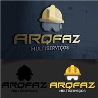 Arqfaz, Logo e Identidade, Limpeza & Serviço para o lar