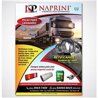 Naprini Comercio de Peças LTDA, Peças Gráficas e Publicidade, Automotivo