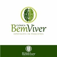 Clinica Bem Viver, Logo e Identidade, Saúde & Nutrição