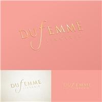 DuFemme, Logo e Identidade, Roupas, Jóias & acessórios