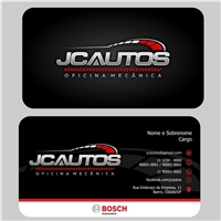 JC AUTOS, Logo e Identidade, Automotivo