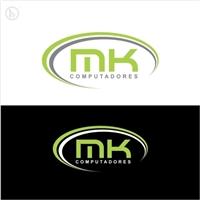 MK COMPUTADORES, Logo e Identidade, Computador & Internet