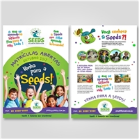 SEEDS BILINGUAL EDUCATION, Peças Gráficas e Publicidade, Educação & Cursos