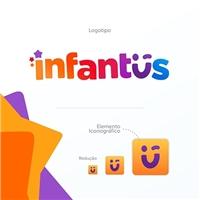 Infantus, Logo e Identidade, Crianças & Infantil