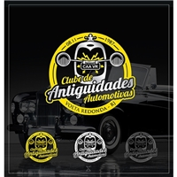 Clube de Antiguidades Automotivas de Volta Redonda , Logo e Identidade, Automotivo