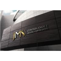 JMS CONTABILIDADE E GESTÃO EMPRESARIAL, Logo e Identidade, Contabilidade & Finanças
