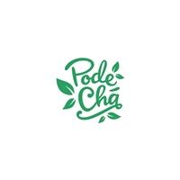 PodeChá, Logo e Identidade, Alimentos & Bebidas