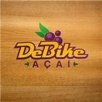 DeBike- açai, Logo e Identidade, Alimentos & Bebidas