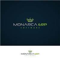 Monarca ERP, Logo e Identidade, Computador & Internet