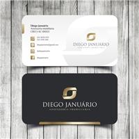 Diego Januário Assessoria imobiliaria , Logo e Identidade, Imóveis