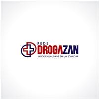 Rede Drogazan - slogan: Saúde e Qualidade em um só lugar, Logo e Identidade, Saúde & Nutrição