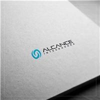 ALCANCE INTEGRADORA, Logo e Identidade, Tecnologia & Ciencias