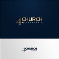4Church Tecnologia Financeira e Contábil, Logo e Identidade, Contabilidade & Finanças