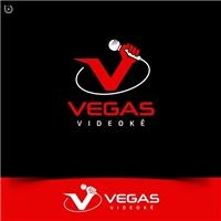 Vegas Videokê, Logo e Identidade, Artes, Música & Entretenimento