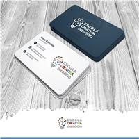 ESCOLA CRIATIVA DE NEGÓCIO, Logo e Identidade, Educação & Cursos