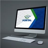 ESCOLA PORTAL Cursos & Profissões, Logo e Identidade, Educação & Cursos