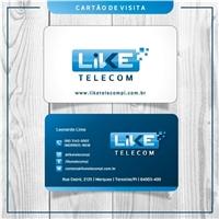 Like Telecom, Logo e Identidade, Computador & Internet