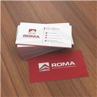ROMA SERVIÇOS & ENGENHARIA, Logo e Identidade, Construção & Engenharia