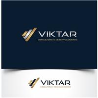 VIKTAR, Logo e Identidade, Consultoria de Negócios