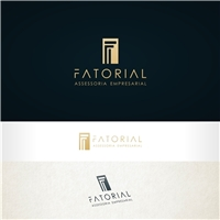 Fatorial Assessoria Empresarial, Logo e Identidade, Consultoria de Negócios