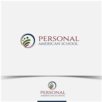 Personal American School, Logo e Identidade, Educação & Cursos