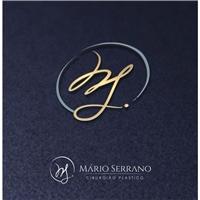 Mário Serrano Cirurgião Plástico, Logo e Identidade, Saúde & Nutrição