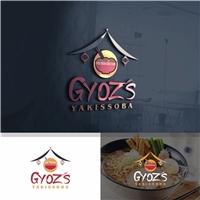 "Gyoz""s Yakissoba, Logo e Identidade, Alimentos & Bebidas"