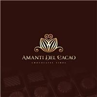 Amanti Del Cacao, Logo e Identidade, Alimentos & Bebidas