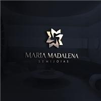 MARIA MADALENA SEMIJOIAS, Logo e Identidade, Roupas, Jóias & acessórios