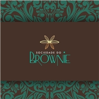 A SOCIEDADE DO BROWNIE, Logo e Identidade, Alimentos & Bebidas