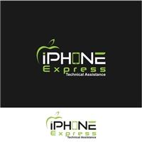 iPhone Expres, Logo e Identidade, Tecnologia & Ciencias