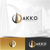 AKKO Construções, Logo e Identidade, Construção & Engenharia
