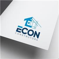ECON, Logo e Identidade, Construção & Engenharia