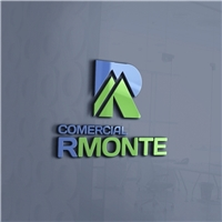 Comercial R monte, Logo e Identidade, Alimentos & Bebidas