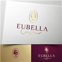 Eubella Coiffeur, Logo e Identidade, Beleza