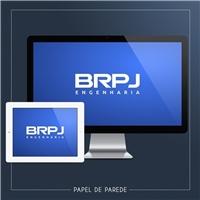 BRPJ ENGENHARIA, Logo e Identidade, Construção & Engenharia